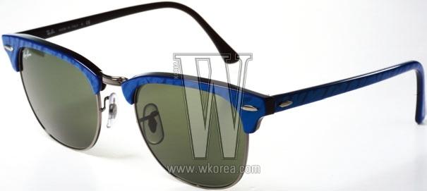 RAYBAN BY LUXOTTICA 파랑 프레임이 청량한 느낌을 주는 선글라스. 26만원