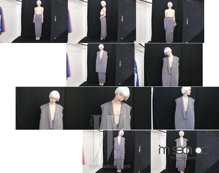 IMSEONOC: DIRECTOR IMSEONOC, MODEL KIM JUNG HA임선옥의 2011 F/W 컬렉션 일정은 2011년 3월 31일(목) 오후 1시 30분 세텍(SETEC)