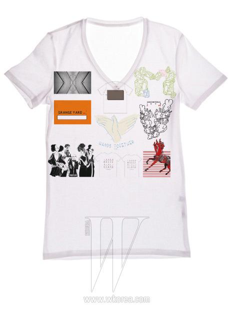 ※4월 18일부터 29일까지 소셜 커머스 사이트인 그루폰 코리아를 통해 판매되는 국내 신진 디자이너들의 채러티 티셔츠. 9명의 디자이너 각자가 생각하는 희망과 나눔의 메시지를 티셔츠에 표현했다.