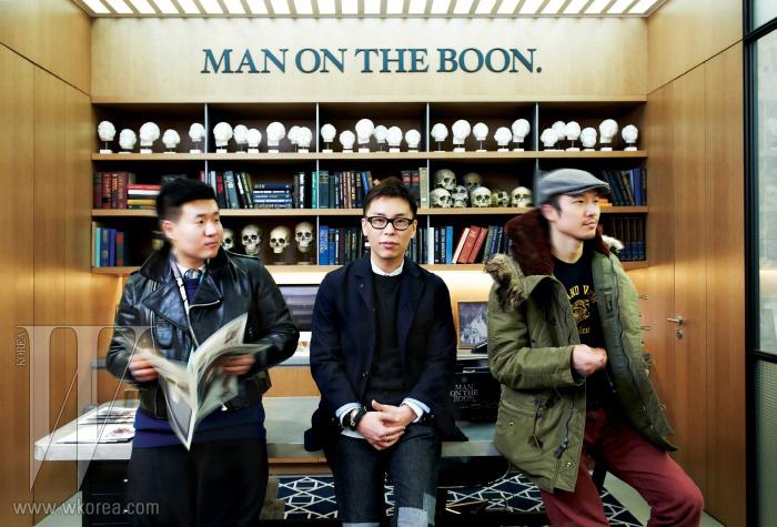 왼쪽부터 | 패션 칼럼니스트 홍석우, 디자인 컨설턴트 김세일, DJ 소울스케이프.