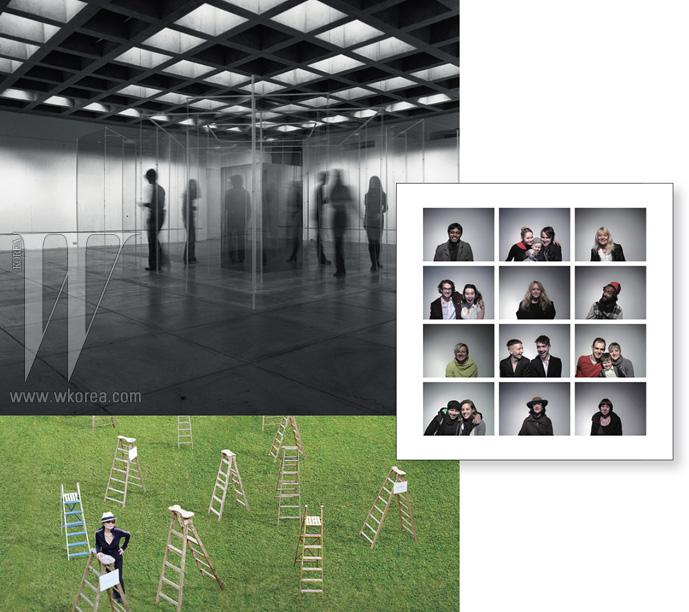 오노 요코의 전시에는 관람객뿐 아니라 전 세계 누구나 참여할 수 있다. 인터넷을 통해 사진을 올려, 행복한 인류의 초상을 창조하는 스마일 프로젝트.