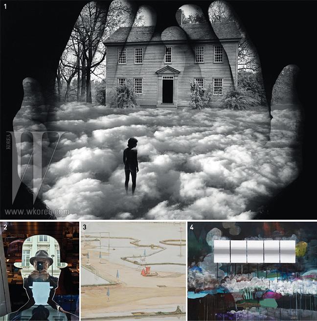 1. 제리 율스만 'Untitled' 2. 강운구 '제리 께 2-2'3. 노충현 '여름의 끝 3' 4. 박형지 '보라매 공원'