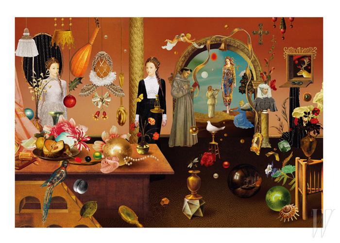 왼쪽부터 | 알렉산더 매퀸, 발렌티노, 알렉산더 매퀸, 발렌티노, 돌체 & 가바나, 알렉산더 매퀸.