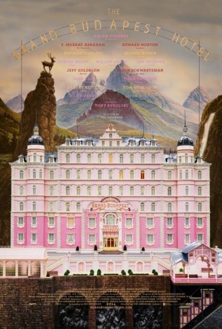 그랜드 부다페스트 호텔 포스터.