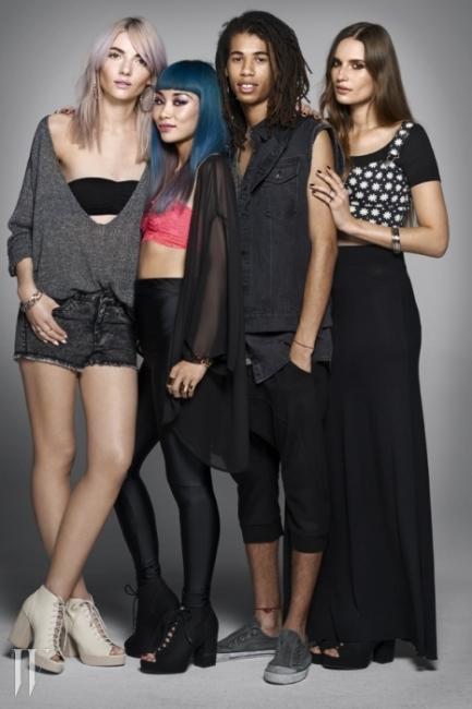 (왼쪽부터) 에클레어 피피, 마드모아젤 율리아, 드림 코알라, 그리고 케이트 언더우드.