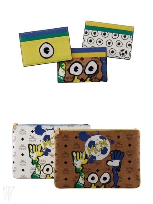 카드지갑, 파우치, 여권지갑 등 다양한 아이템에서 이 유쾌한 몬스터들을 만날 수 있다.