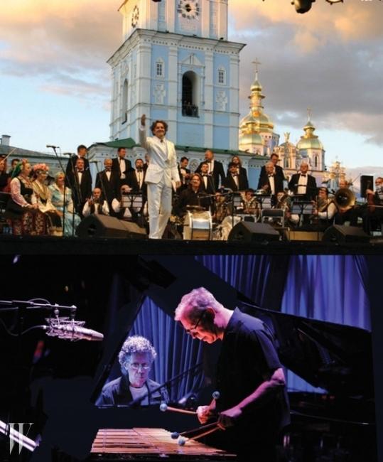 (위)고란 브레고비치 & 웨딩 앤 퓨너럴 오케스트라. (아래)칙 코리아와 게리 버튼.