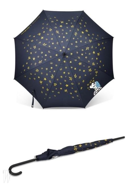 우산을 펼쳤을 때와 접었을 때의 모습.