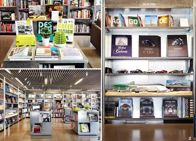 1,2,3. 현대자동차 오토 라이브러리에서는 자동차와 접점을 가진 문화예술 전반에 관련된 책들을 열람할 수 있다.