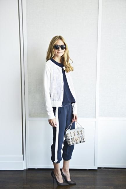 올리비아 팔레르모의 블로그에 올라온 그녀의 데일리 룩. 그녀는 평소에도 아쿠아주라의 구두를 애용한다고.