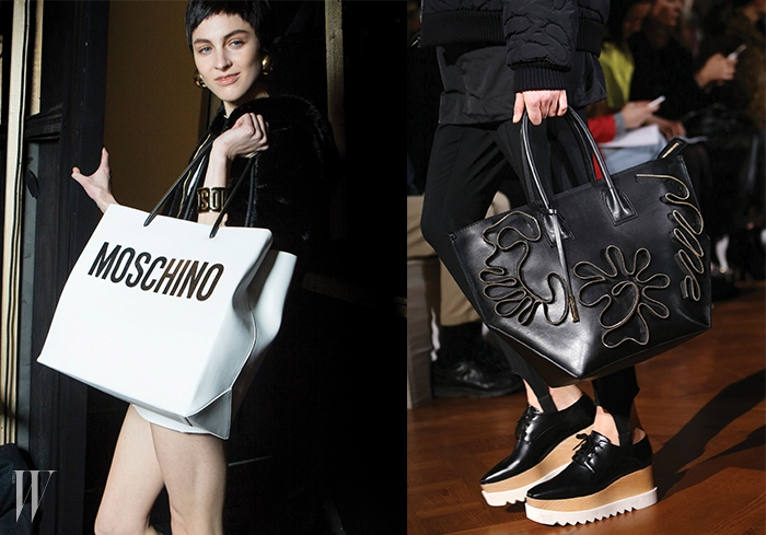 왼쪽부터 MOSCHINO, STELLA McCARTNEY