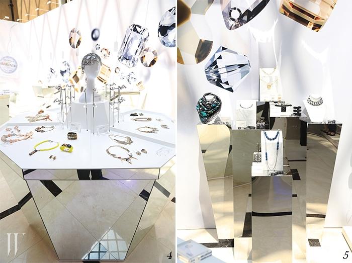 4,5. 70명의 디자이너들이 참여한 스와로브스키의 상하이 전시.