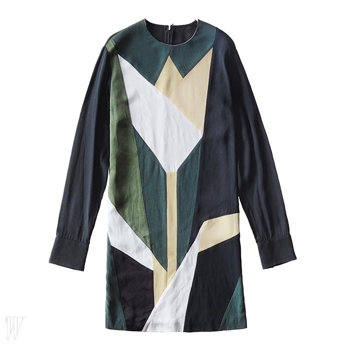 STELLA McCARTNEY 튤립을 그래픽적으로 표현한 드레스. 2백만원대.