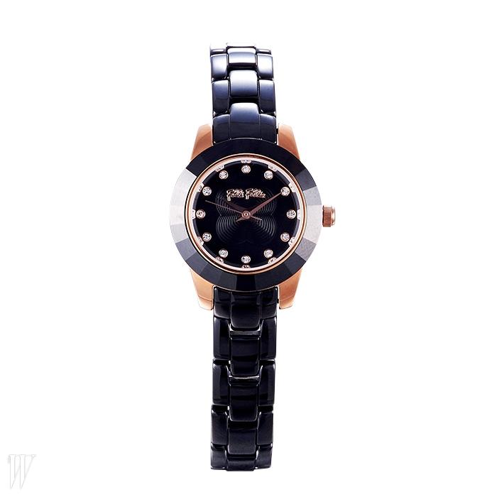 FOLLI FOLLIE 섬세한 세라믹 소재 시계. 40만원대.
