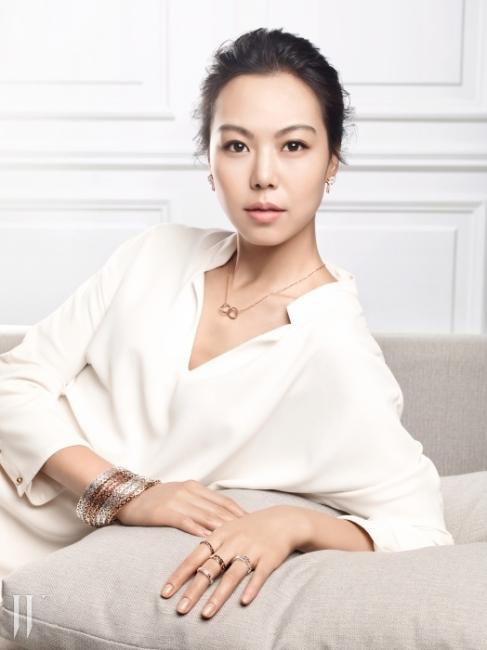 폴리폴리의 새로운 모델로 발탁된 배우 김민희.
