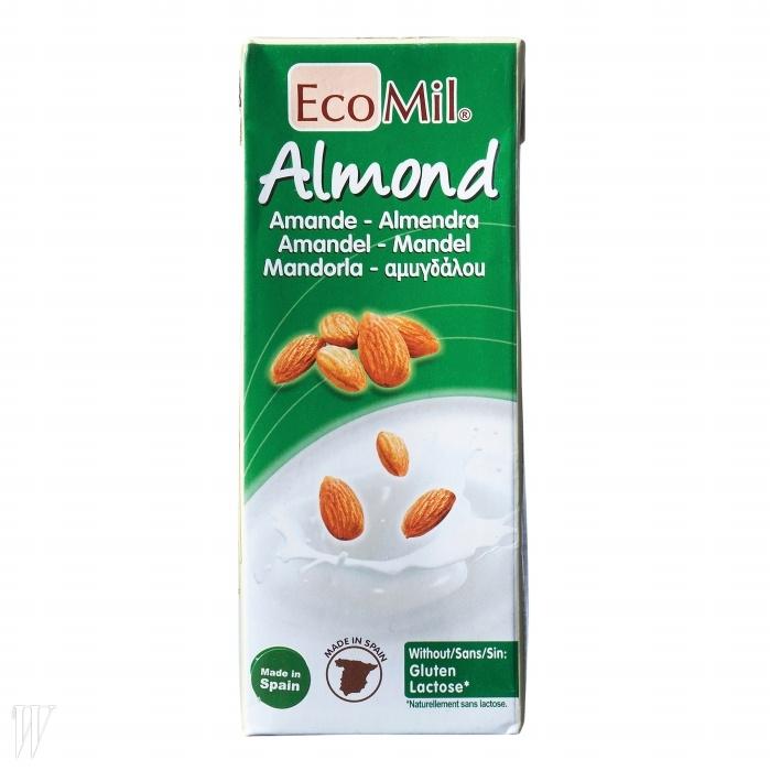 4. Eco Mil 아몬드 드링크스페인산 아몬드 밀크를 넣은 혼합음료.보존제, 합성첨가물, GMO(유전자조작 식품)를 함유하지 않았다.200ml, 가격 미정.