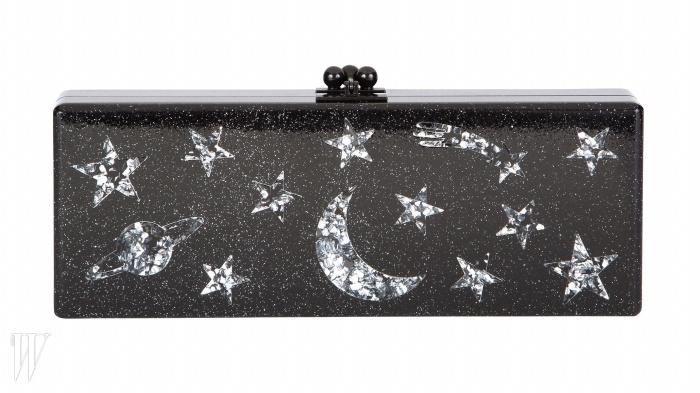 EDIE PARKER BY GALLERIA BAG MULTI밤하늘을 연상시키는 아크릴 소재의 클러치. 2백10만원.