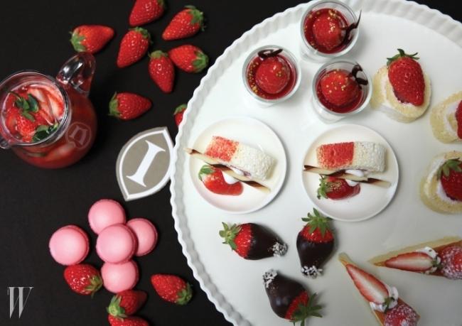 인터컨티네탈의 딸기 뷔페