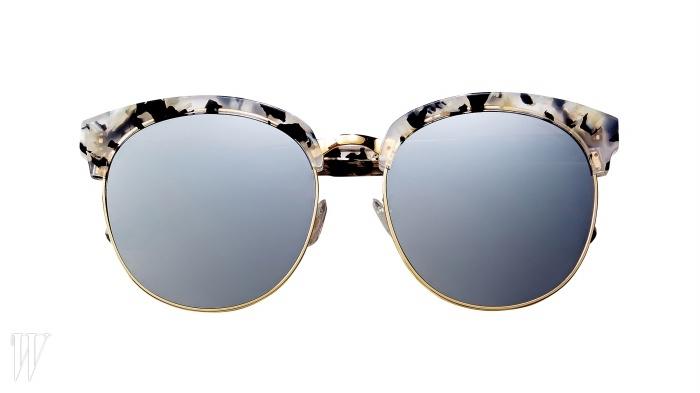 GENTLE MONSTER 동그란 프레임이 매력적인 오버사이즈 보잉 선글라스. 24만9천원.