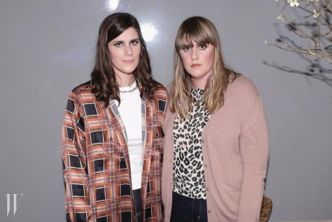 왼쪽이 로라, 오른쪽이 케이트 물리비.