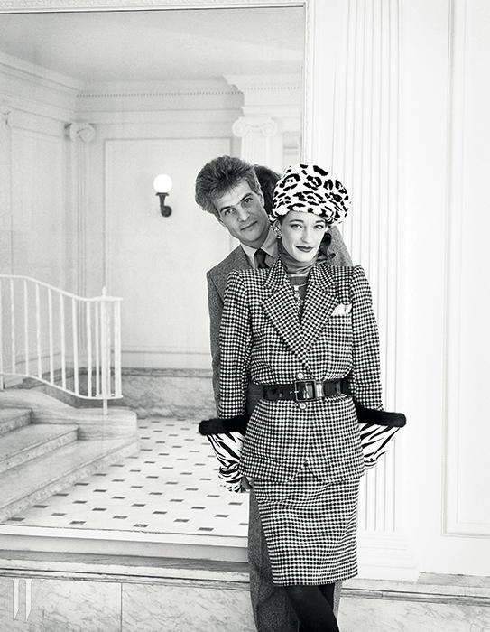 룰루와 두 번째 남편 테디 클로소프스키 드 롤라(1984).
