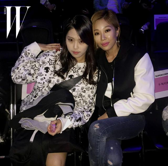 <언프리티랩스타>의 진짜 스타, 육지담과 제시
