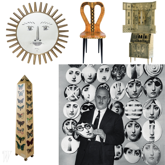 시대의 괴짜제목_ Piero Fornasetti : La Folie Pratique일자_ 3/11~6/14장소_ Les Arts Decoratifs, Paris