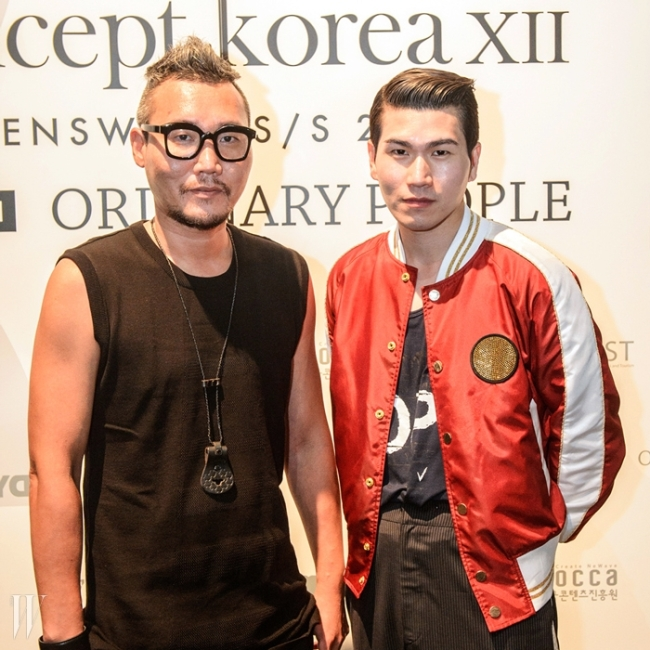 글로벌 프로젝트, '컨셉 코리아'를 통해 한국 디자이너 대표로 참가한 디바이디의 강동준과 나.