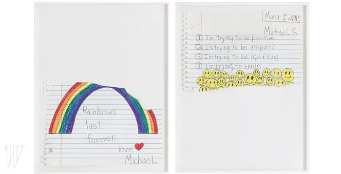 마이클 스코긴스의 'Rainbow Last Forever'와 'I'm Trying'.
