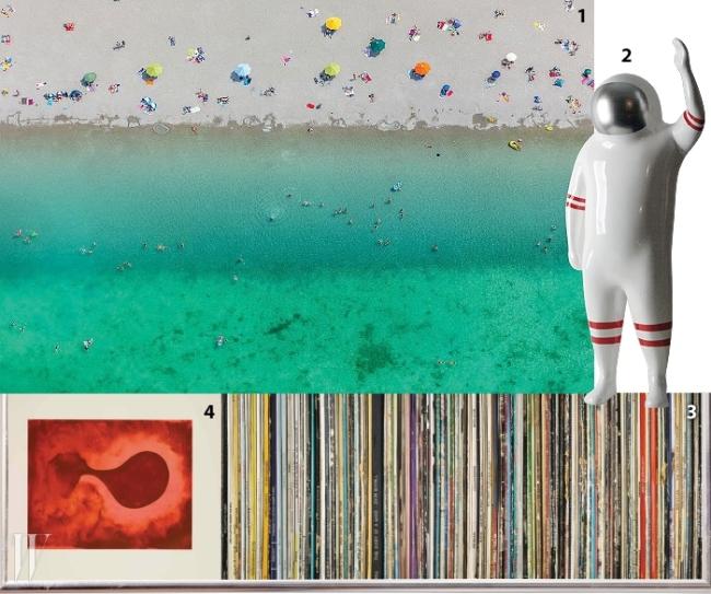 1. 클라우스 라이도르프 'Remember Summertime'2. 변경수 'Space Boy'3. 니만트 'The Diary of a Band'4. 아니쉬 카푸어 '12 etchings No.9'