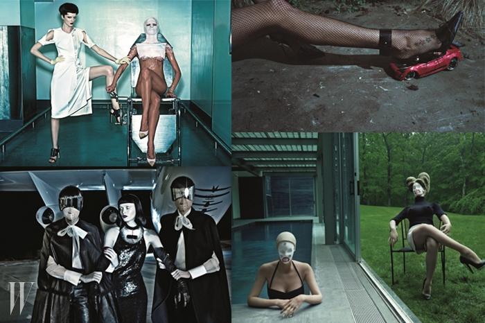 <나스 X 스티븐 클라인 컬렉션>을 위해스티븐 클라인과 나스가 심혈을 기울여고른 스티븐 클라인의 사진들은 하나같이강렬하고 대담하며 도발적이다.