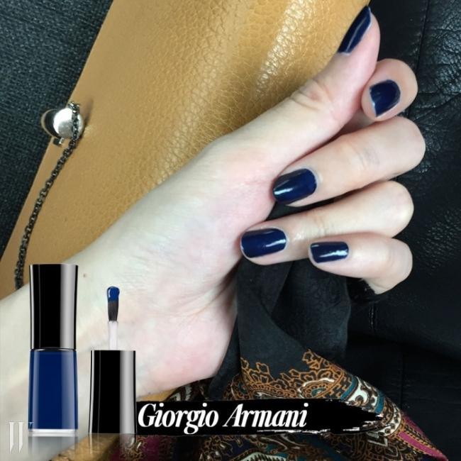 1 Giorgio Armani 네일 락커(블루 드 아르마니)
