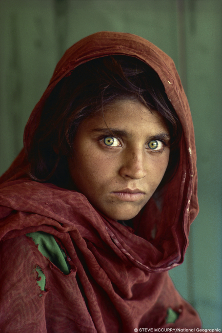 아프가니스탄 소녀 ⓒSTEVE MCCURRY / National Geographic
