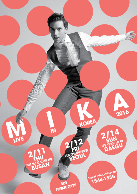 MIKA LIVE IN KOREA 2016