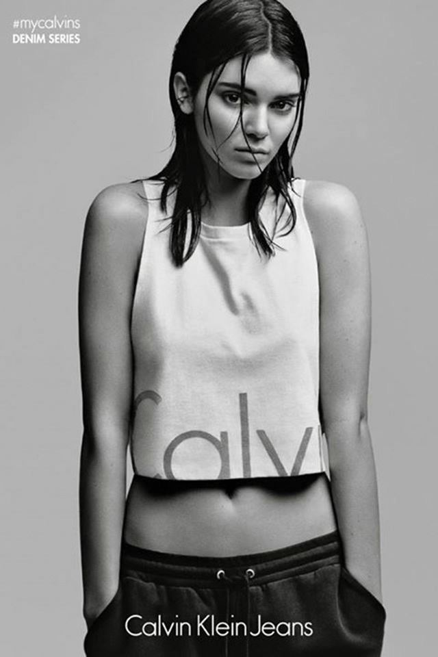지난해, 캘빈 클라인 진의 '마이 캘빈' 광고 캠페인.