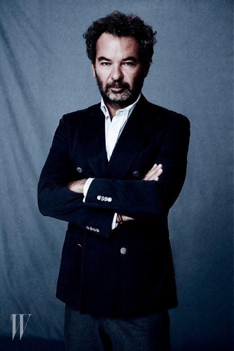몽클레르 그룹의 CEO이자 몽클레르 그레노블 컬렉션의 크리에이티브 디렉터 레모 루피니.