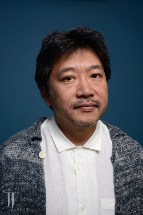 TORONTO, ON - SEPTEMBER 08:  Director Hirokazu Kore-Eda of 'Like Father, Like Son' poses at the Guess Portrait Studio during 2013 Toronto International Film Festival on September 8, 2013 in Toronto, Canada.  (Photo by Larry Busacca/Getty Images)