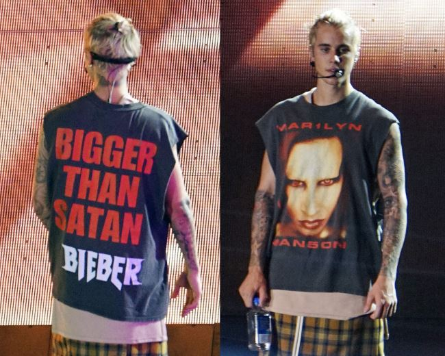 Justin Bieber declares he's 'BIGGER THAN SATAN' on 'Purpose World Tour' Debut Show!
