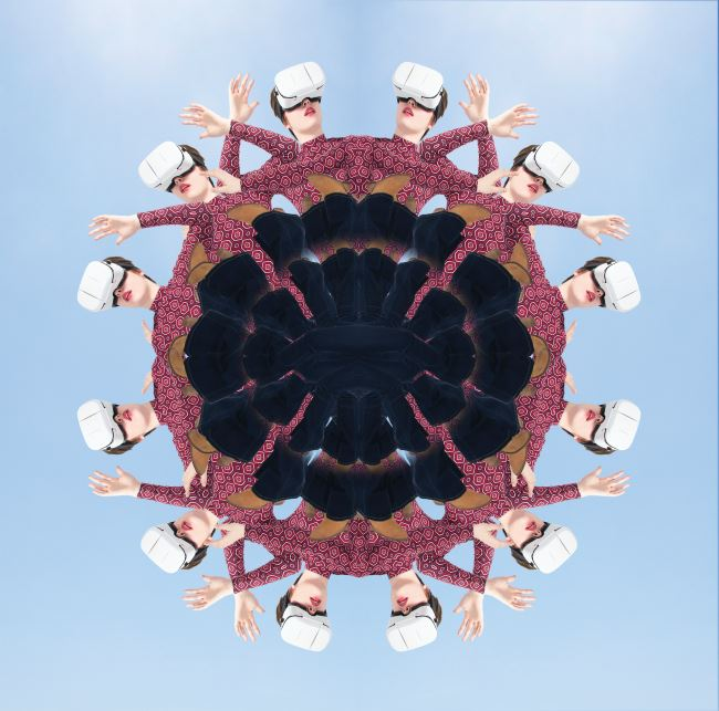 Kaleidoscope virtual reality