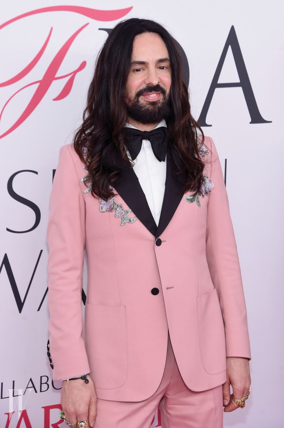 NEW YORK, NY - JUNE 06: Creative director of Gucci Alessandro Michele attends the 2016 CFDA Fashion Awards at the Hammerstein Ballroom on June 6, 2016 in New York City.  (Photo by Jamie McCarthy/Getty Images)