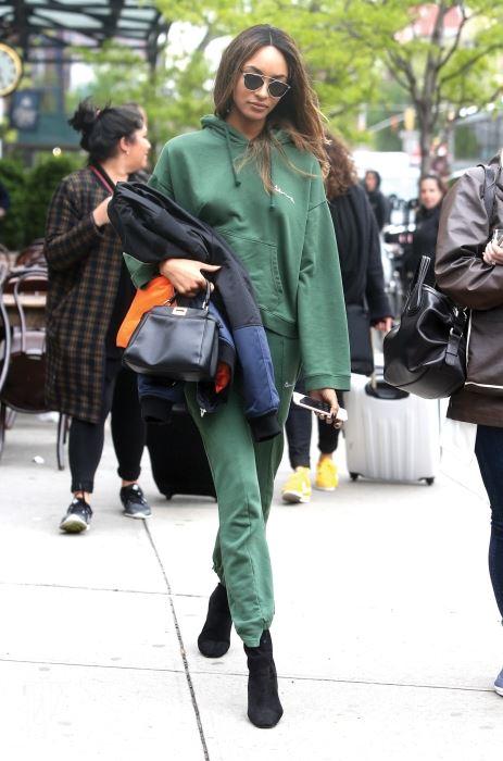 Model Jourdan Dunn is spotted out and about in New York City. Pictured: Jourdan Dunn Ref: SPL1275048  030516   Picture by: Splash News Splash News and Pictures Los Angeles:310-821-2666 New York:212-619-2666 London:870-934-2666 photodesk@splashnews.com
