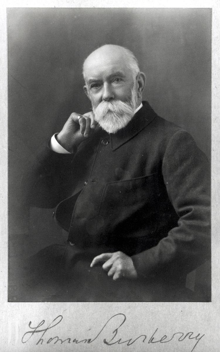 버버리 창립자 '토마스 버버리(Thomas Burberry)'