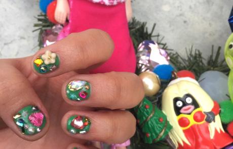 #W네일의런웨이 – 크리스마스 네일