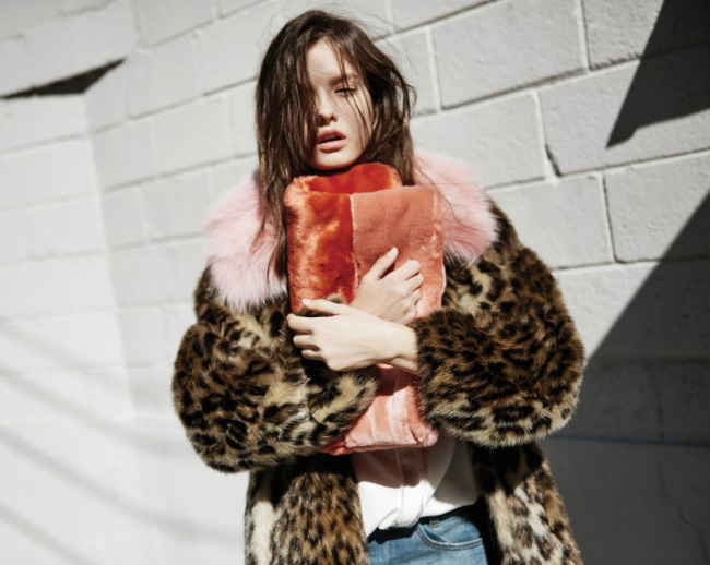 지컷의 퍼 컬렉션 'Fur Weather'.