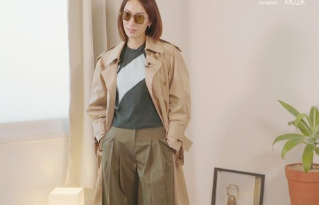 #W돌려입옷 – 트렌치코트