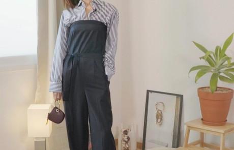 #W돌려입옷 – 스트라이프 셔츠