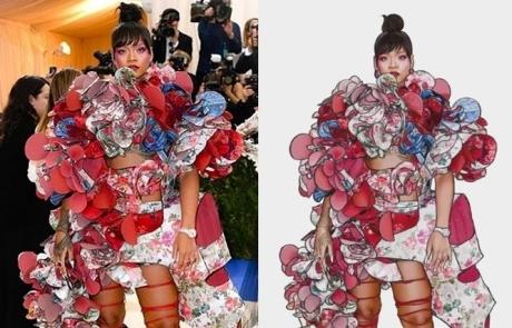 리한나의 같은 옷, 다른 그림