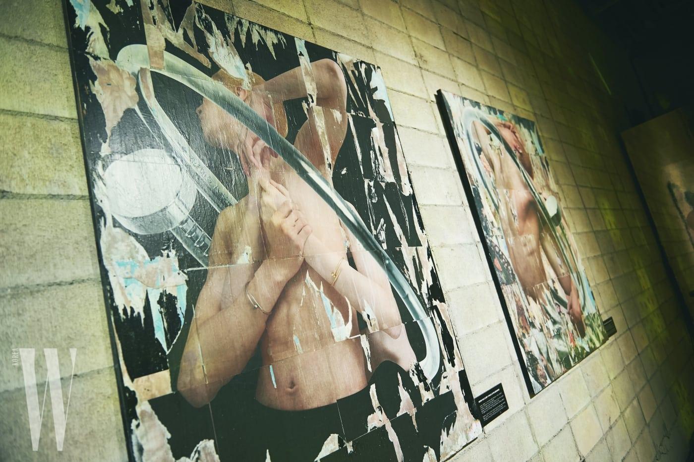 저스트 앵 끌루 아티스트 프로젝트에 참여한 조기석 작가의 작품을 전시해 메종의 혁신적인 스타일을 강조했다.