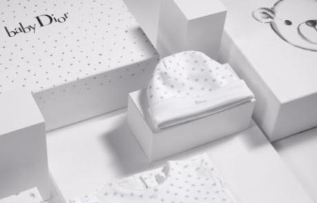 베이비 디올의 선물 상자