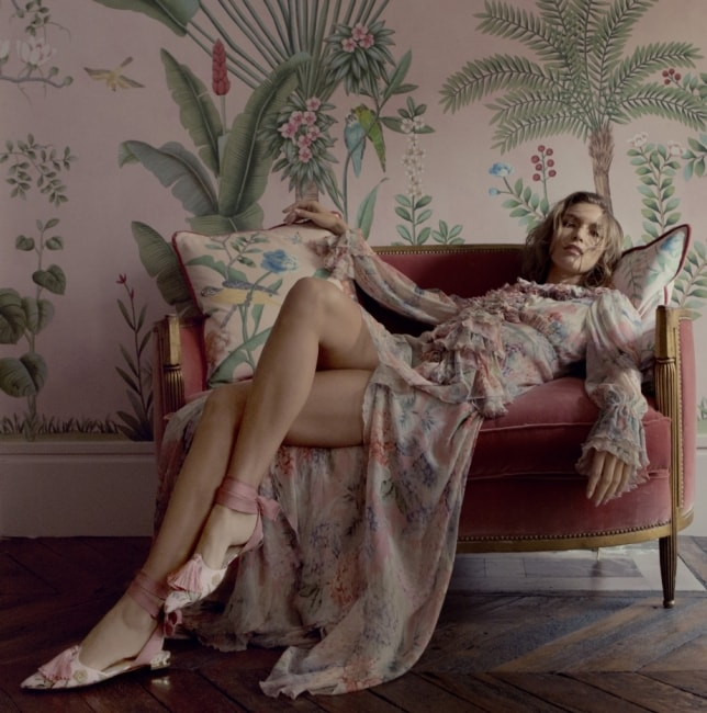 AQUAZZURA X DE GOURNAY FOR MATCHESFASHION.COM, SHOT BY FIONA TORRE